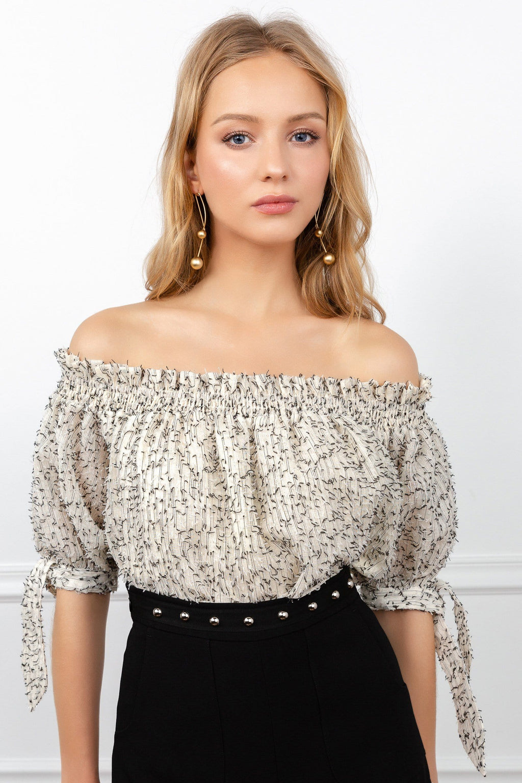 Cathy Cold Shoulder Blouse