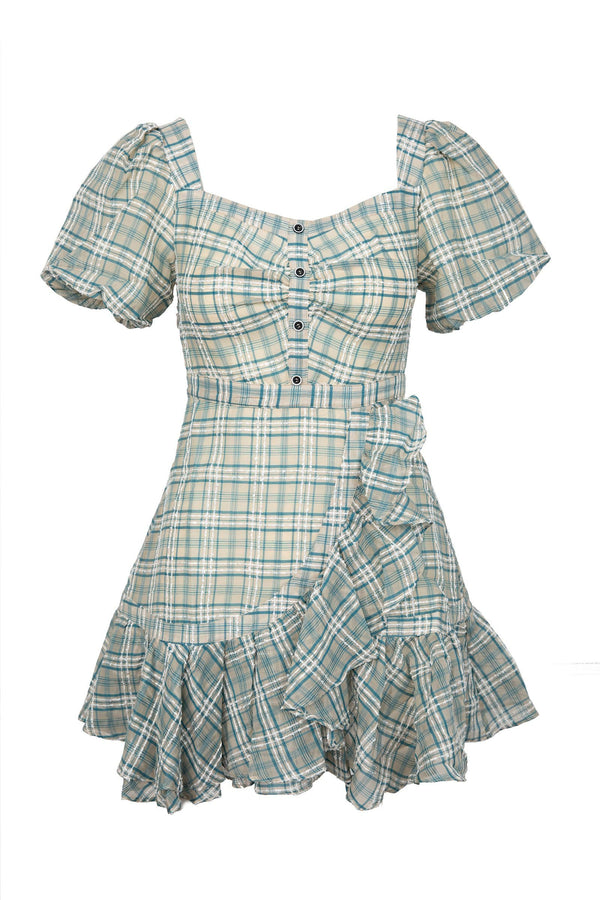 Plaid Picnic Dress