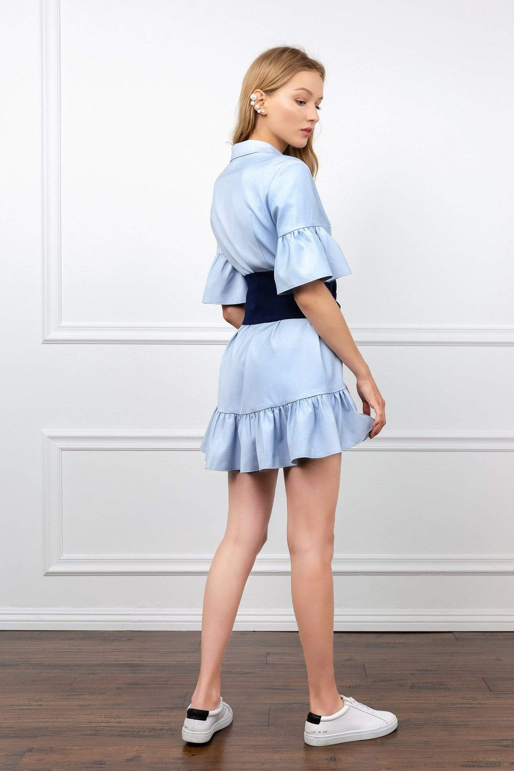 Fiona Flutter Dress