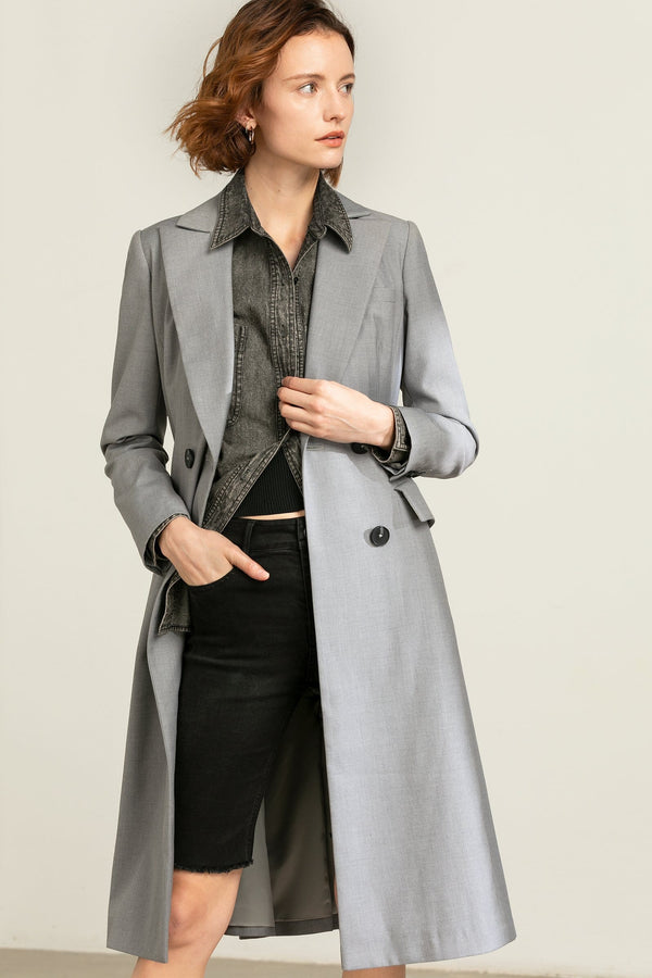 Diana Grey Princess Coat