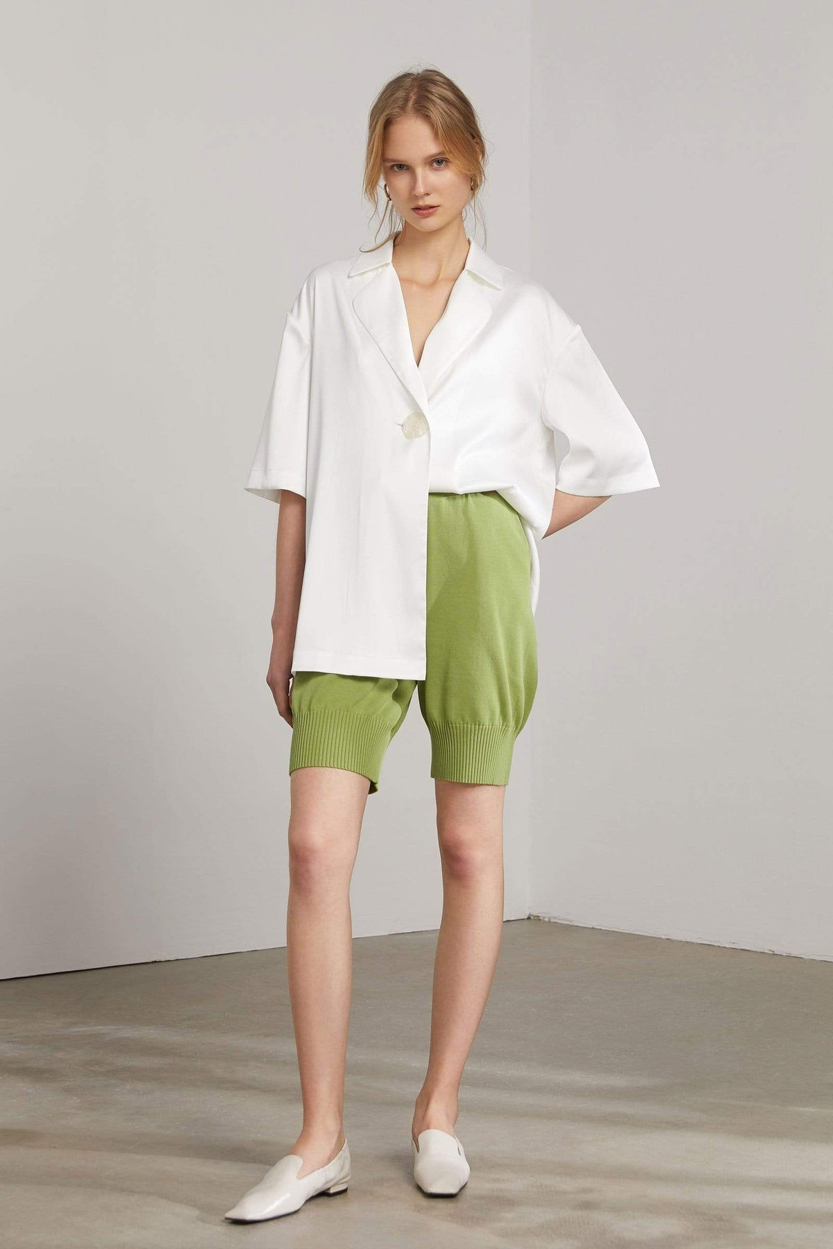 Denise Green Bermuda Shorts