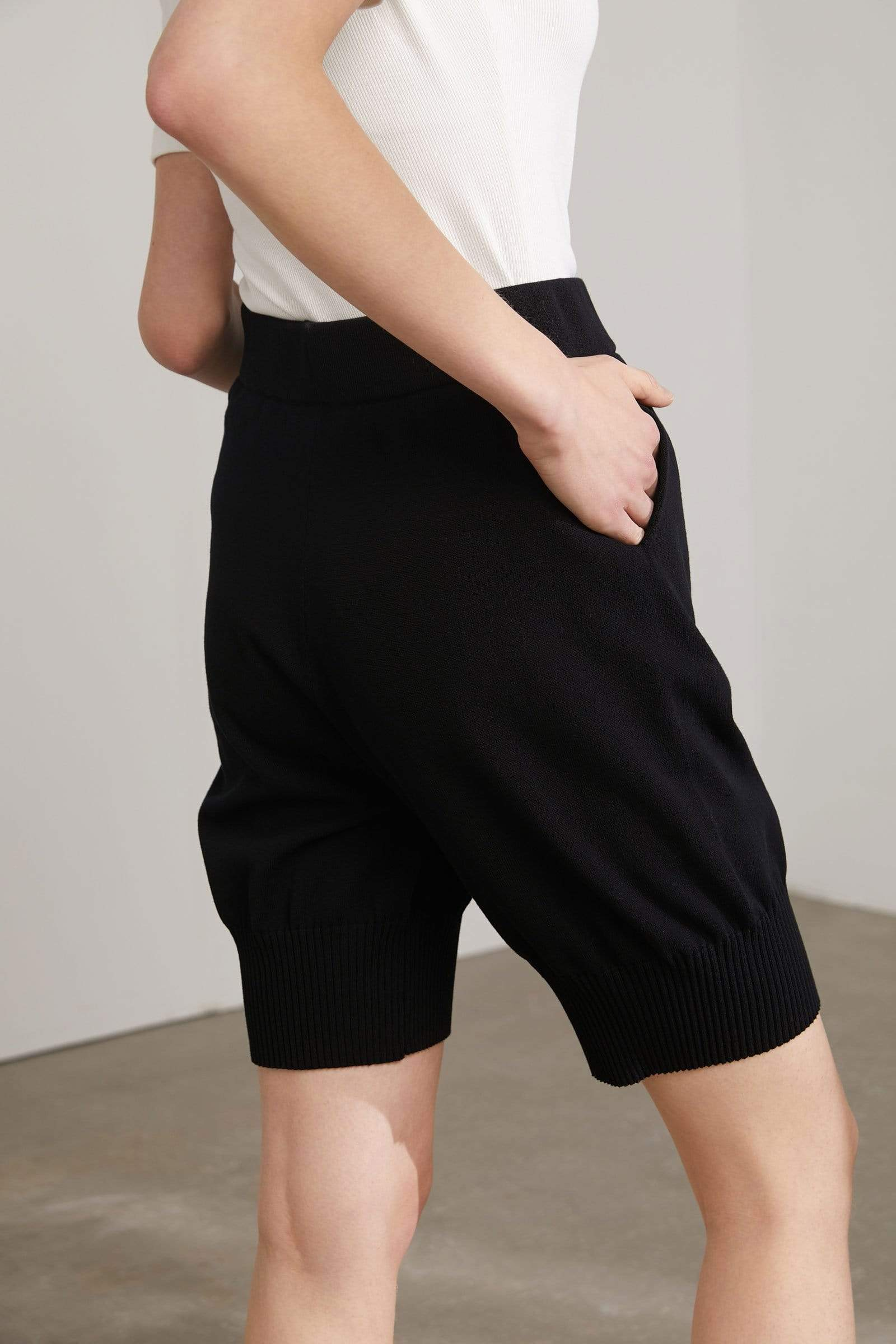 Denise Black Bermuda Shorts