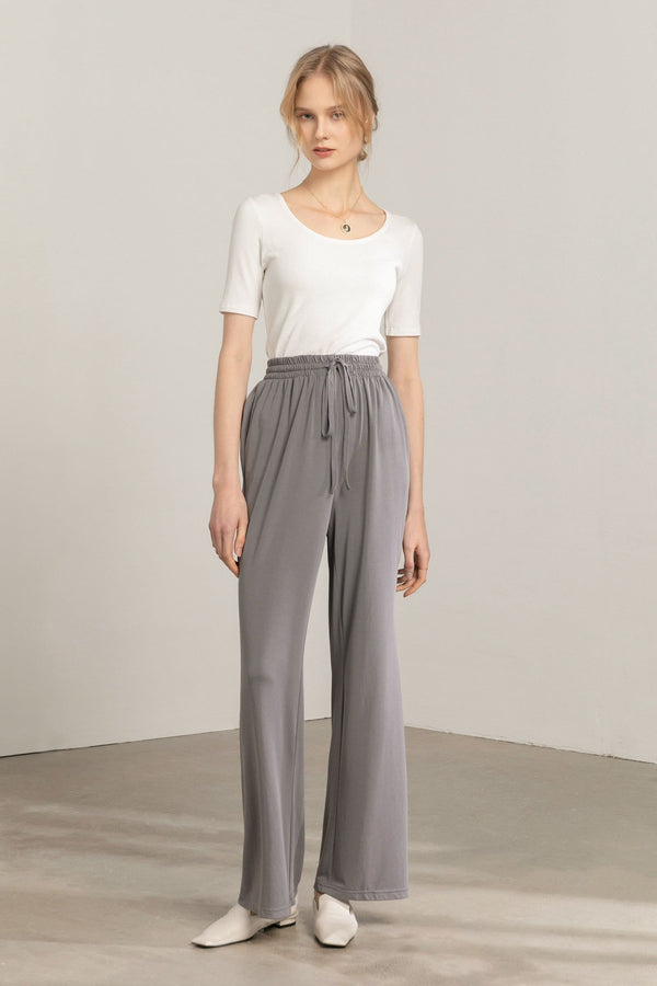 Lounger Grey Knit Pants