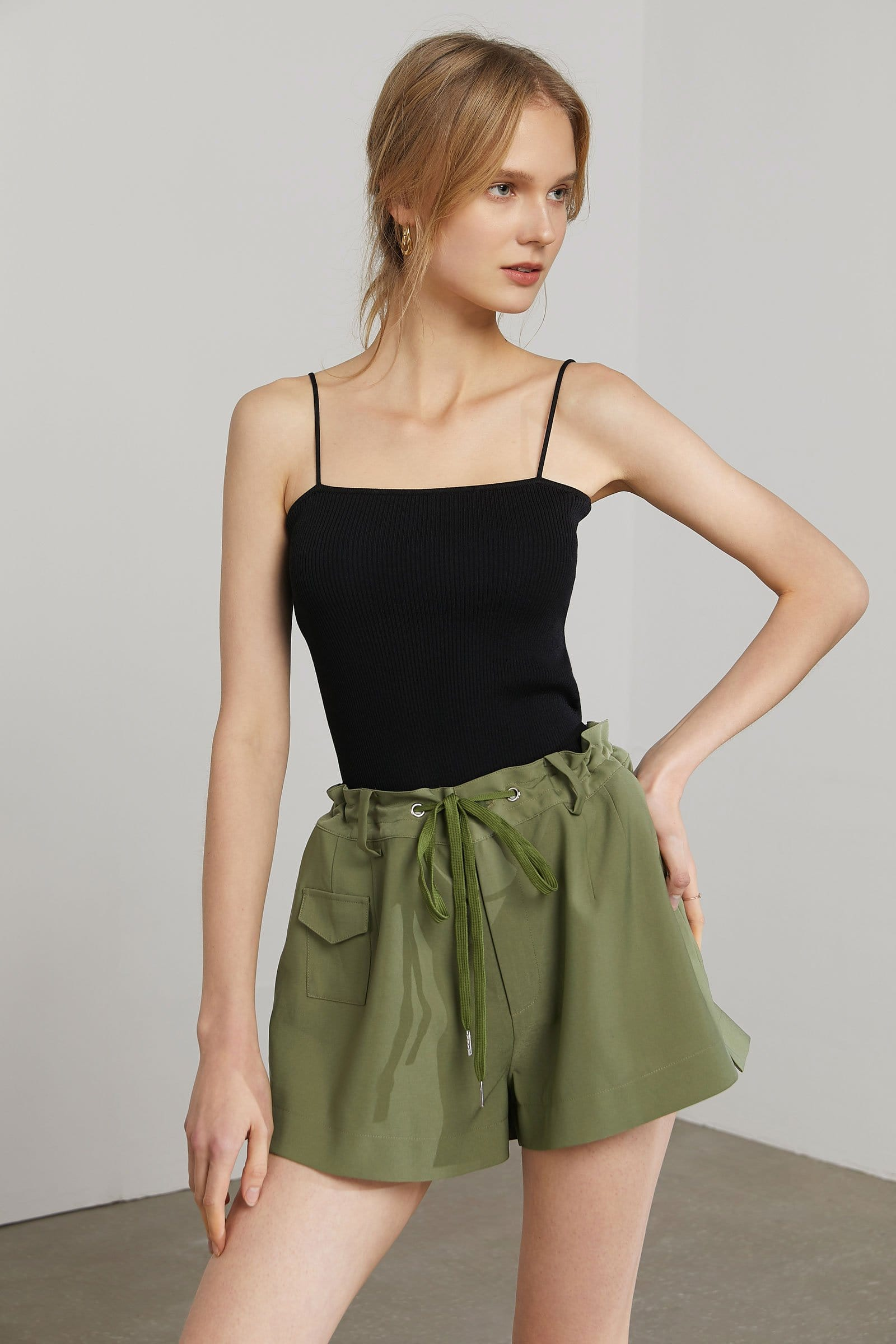Opuntia Green Shorts