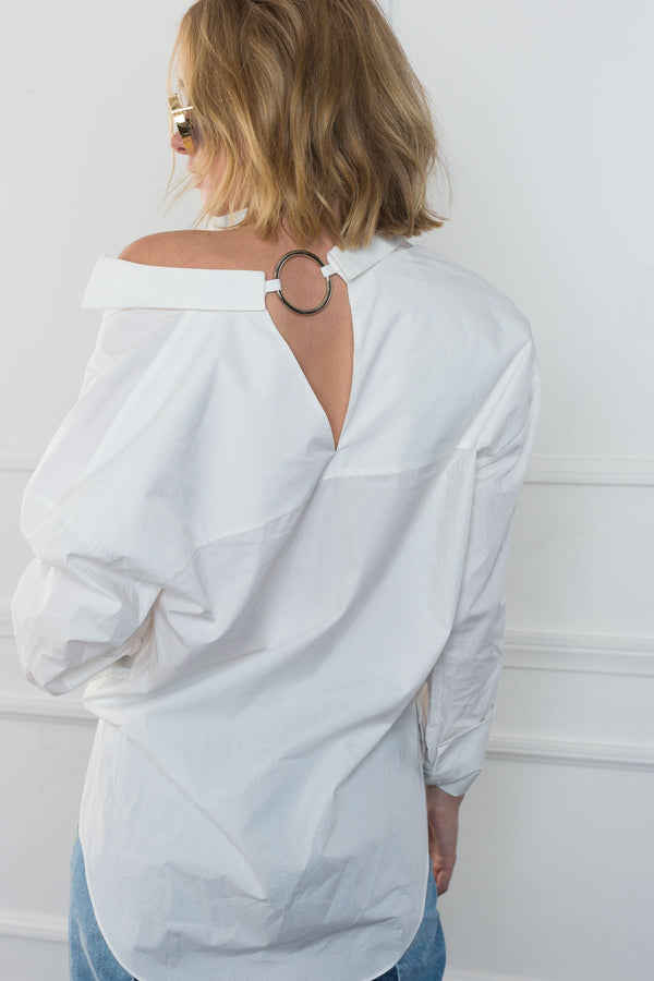 The 'O' Blouse in Tops by J.ING - an L.A based women's fashion line
