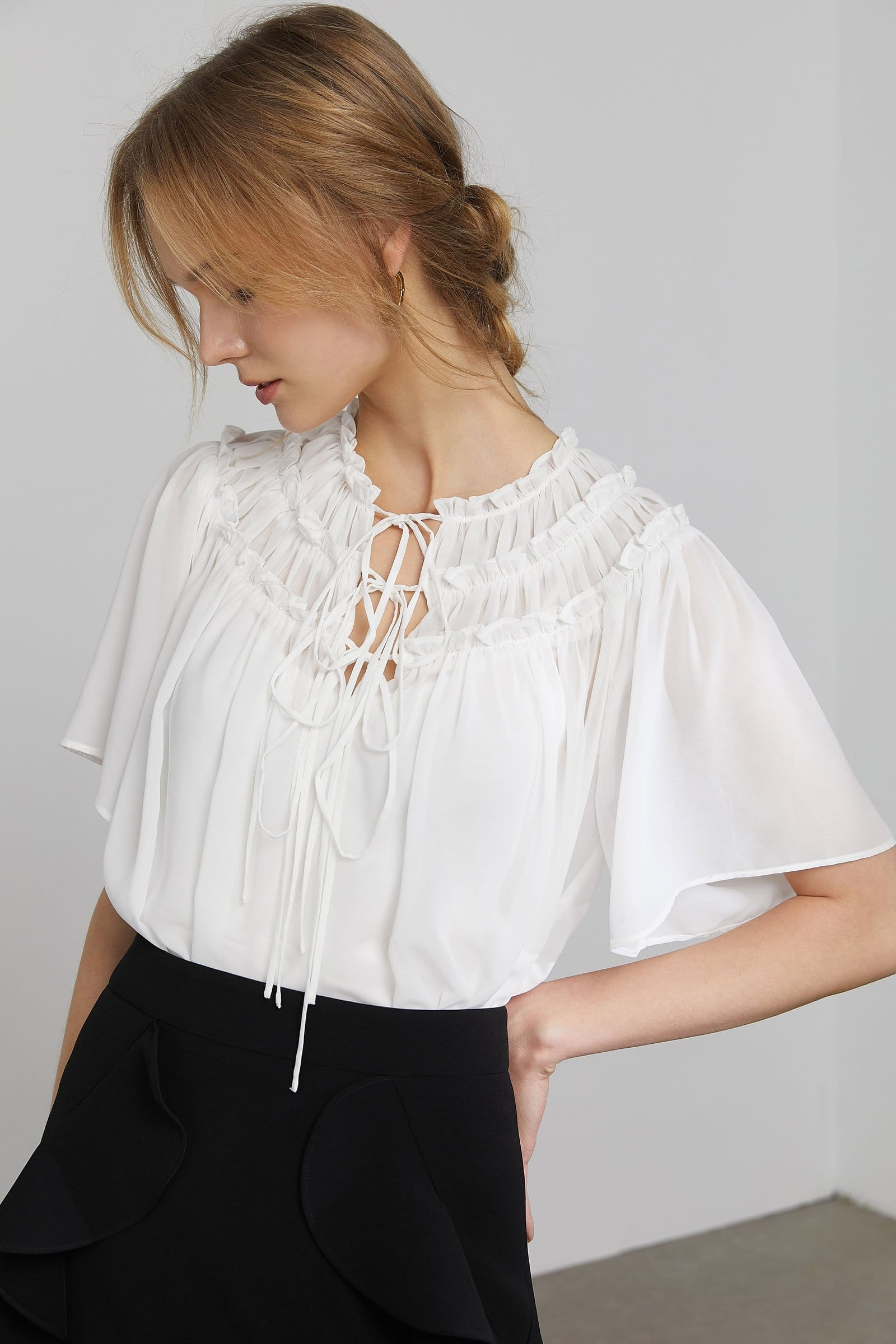 Alicia White Spanish Blouse