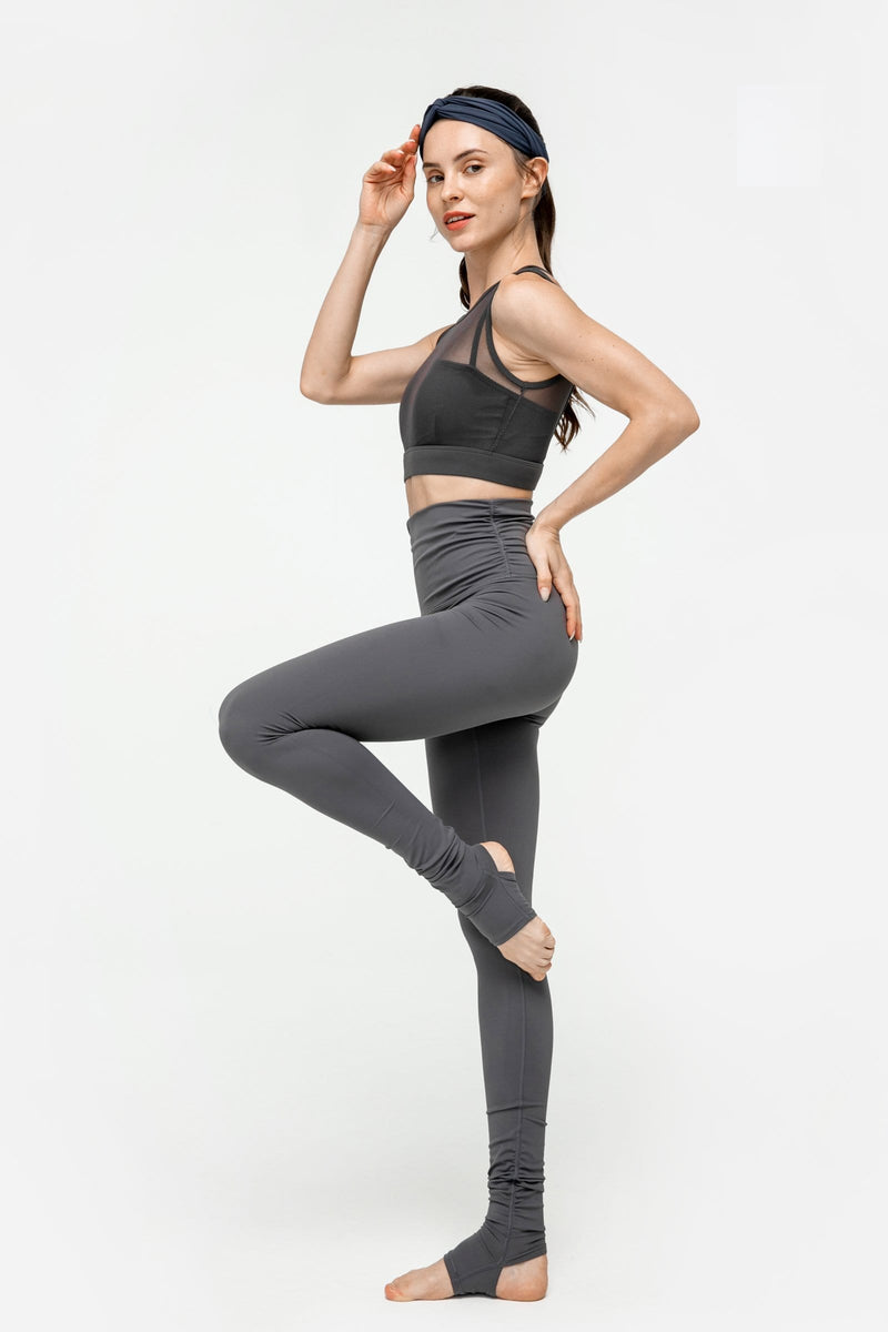 Charcoal Grey Ballerina Legging