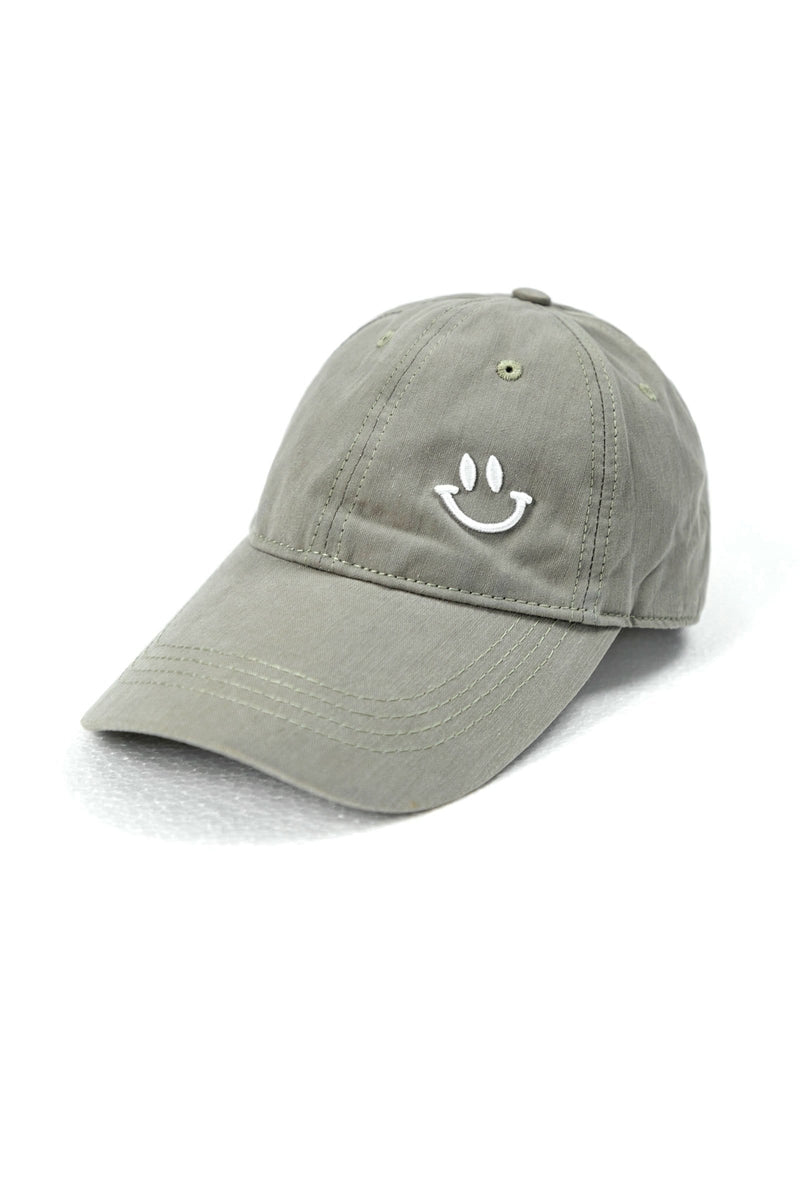 Smile Grey Baseball Cap