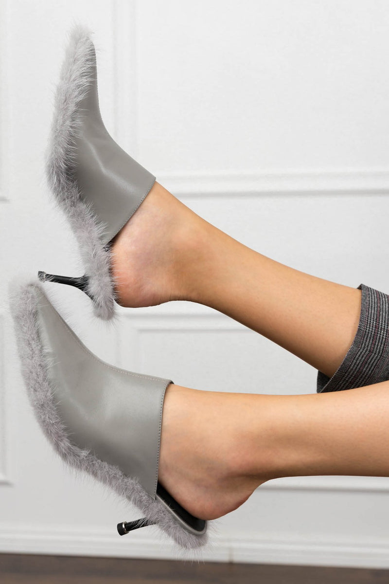 Furley Mules in SHOES by J.ING - an L.A based women's fashion line