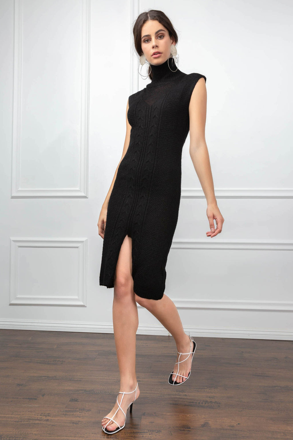 Annabelle Knit Dress in Knitwear by J.ING - an L.A based women's fashion line