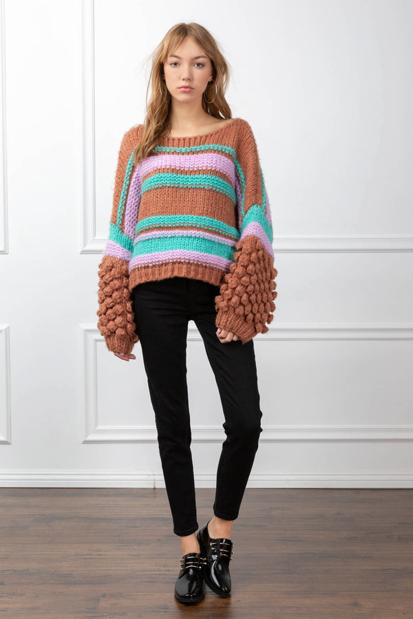 Arianna Sweater in Knitwear by J.ING - an L.A based women's fashion line