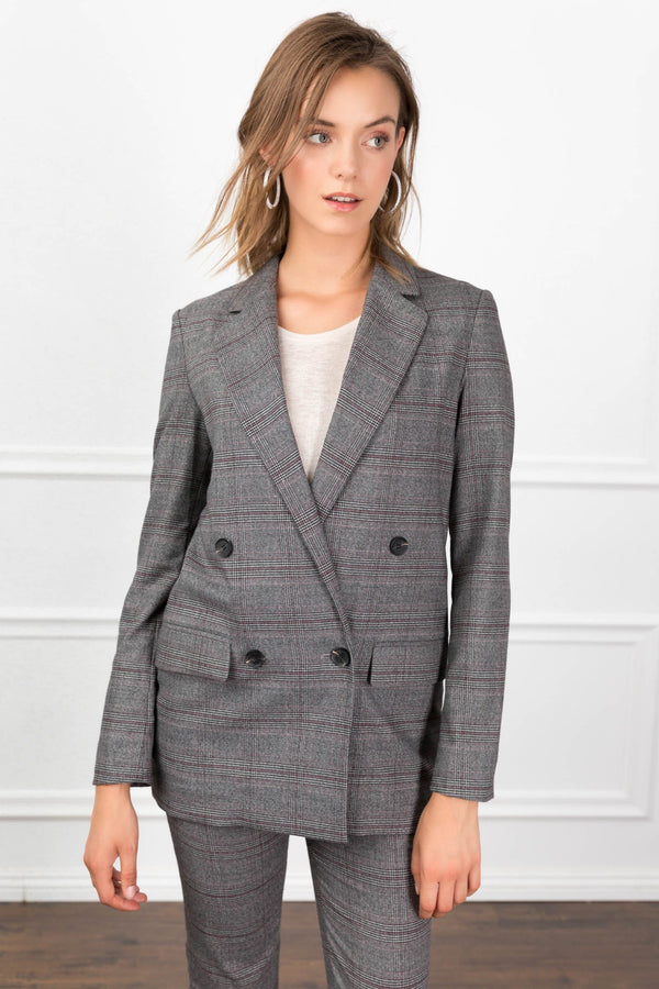 Aubrey Blazer in Coats & Jackets by J.ING - an L.A based women's fashion line