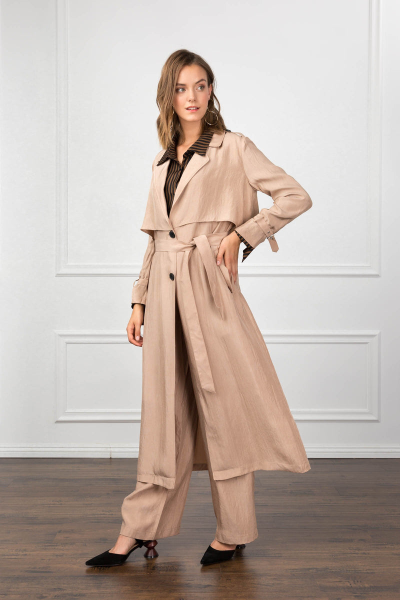 Beatrice Trench Coat in Coats & Jackets by J.ING - an L.A based women's fashion line