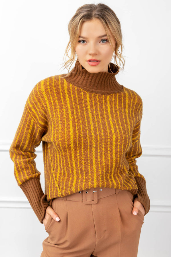 Bernadette Sweater Gold