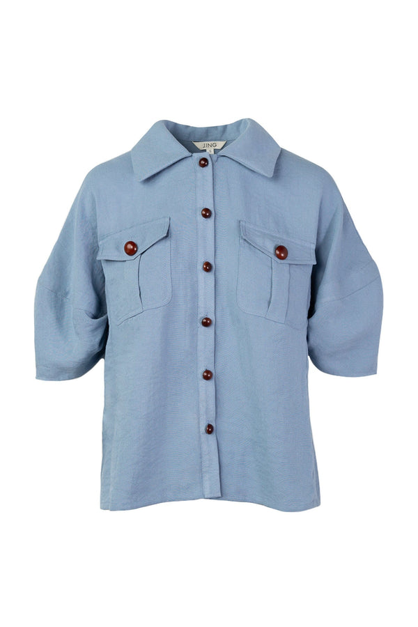 Blue Barry Shirt
