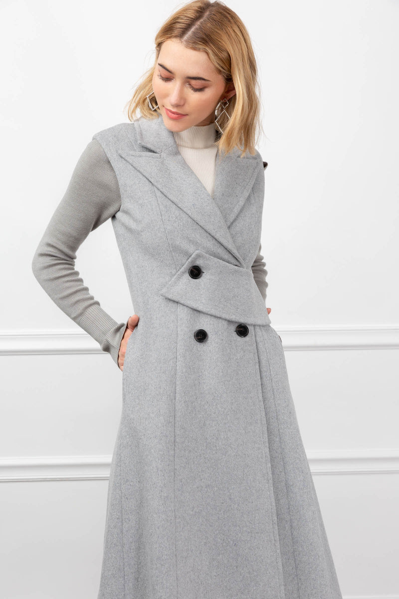 Brynley Vest in Coats & Jackets by J.ING - an L.A based women's fashion line