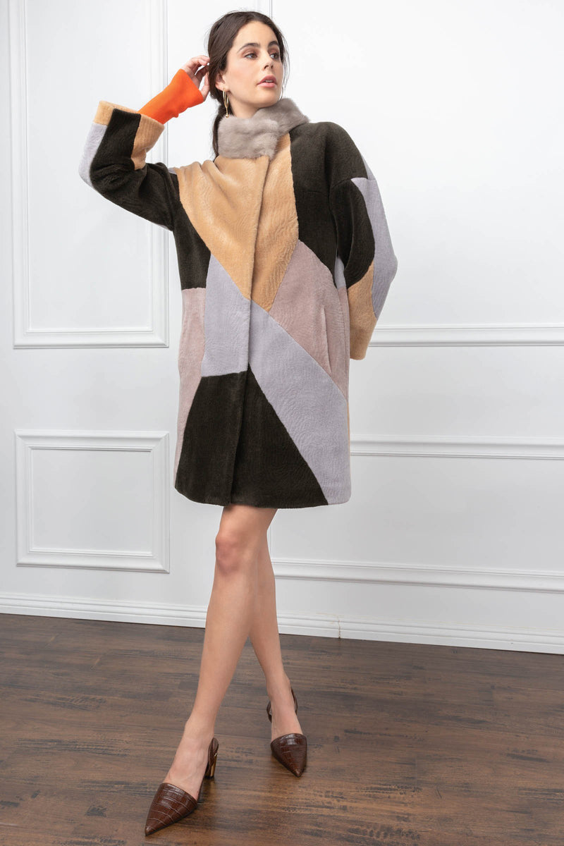 Calico Coat in Coats & Jackets by J.ING - an L.A based women's fashion line