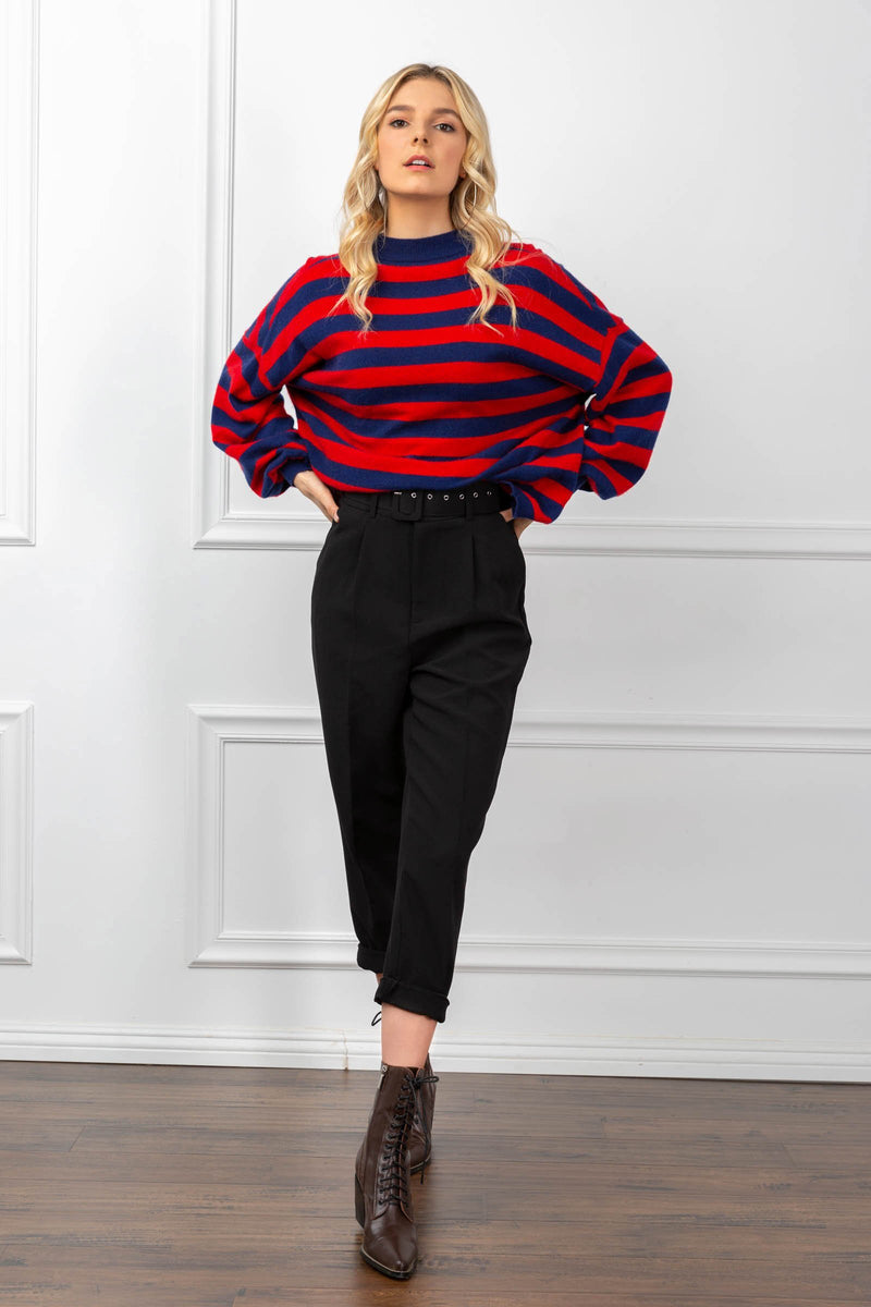 Camille Sweater Red