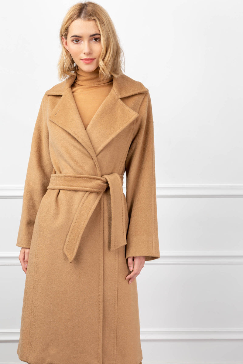 Carey Coat Camel in Coats & Jackets by J.ING - an L.A based women's fashion line
