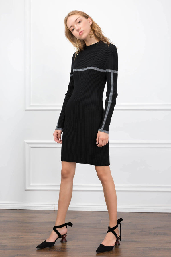 Carly Knit Dress in Knitwear by J.ING - an L.A based women's fashion line
