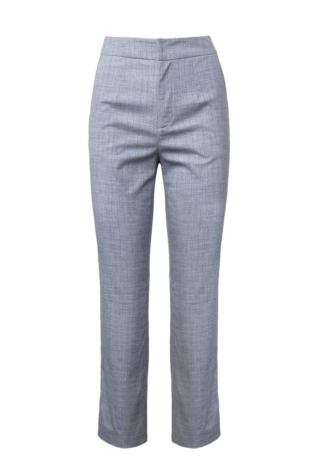 Carmen Pants in Grey Blue