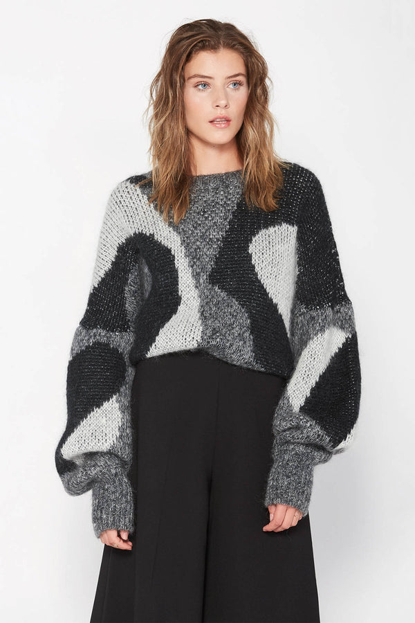 Cassandra Sweater in Knitwear by J.ING - an L.A based women's fashion line