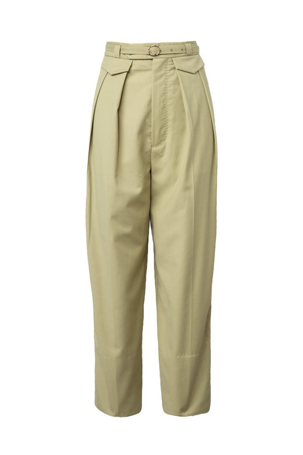 Sammy Khaki Cropped Pants