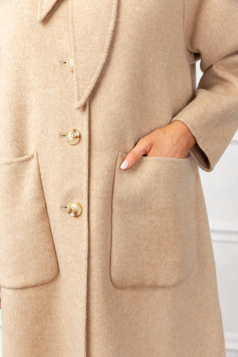 Constance Coat in Coats & Jackets by J.ING - an L.A based women's fashion line