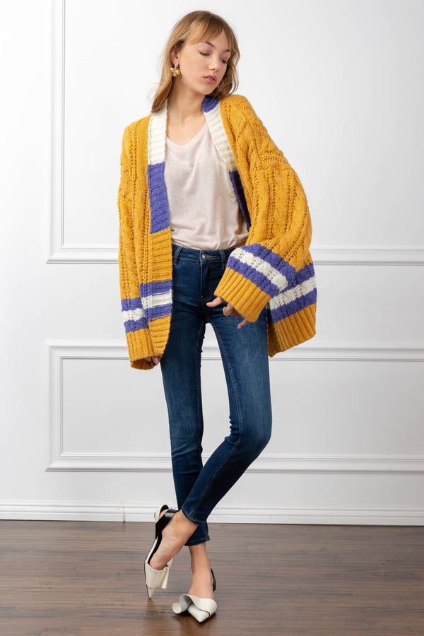 Courtney Cardigan in Knitwear by J.ING - an L.A based women's fashion line