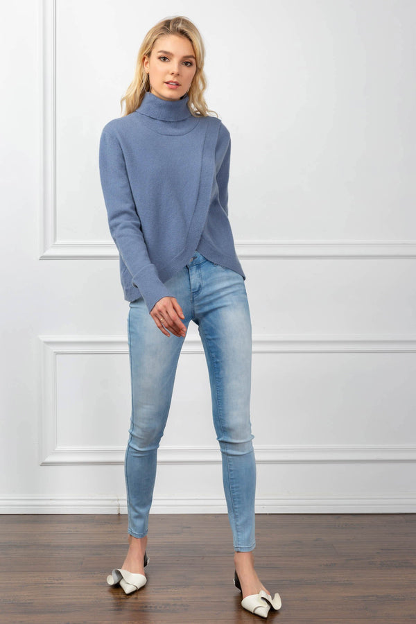 Daisy Sweater Blue