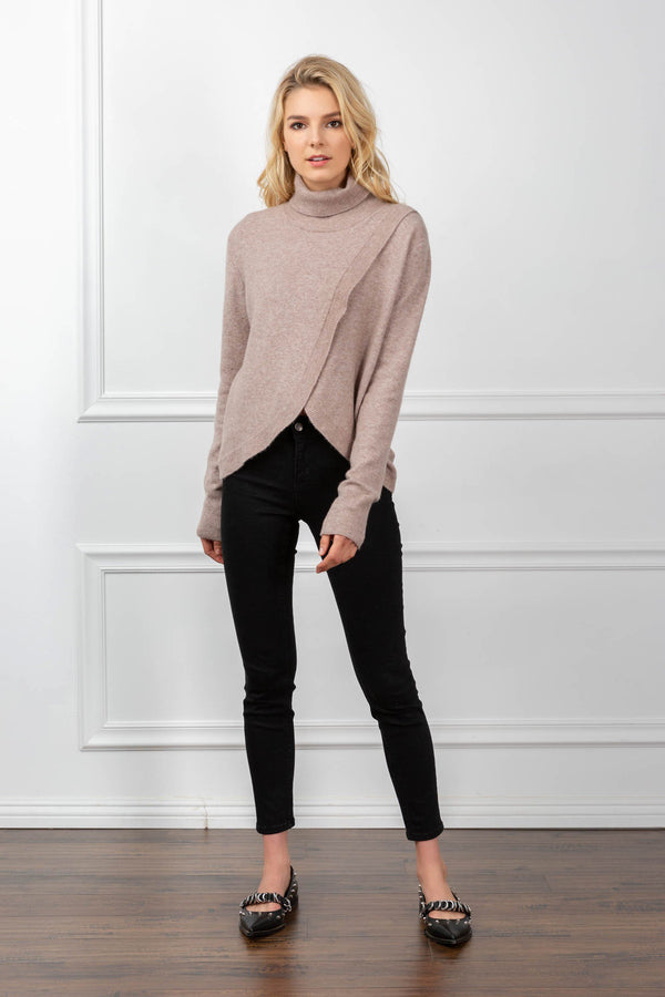 Daisy Sweater Rosy Brown