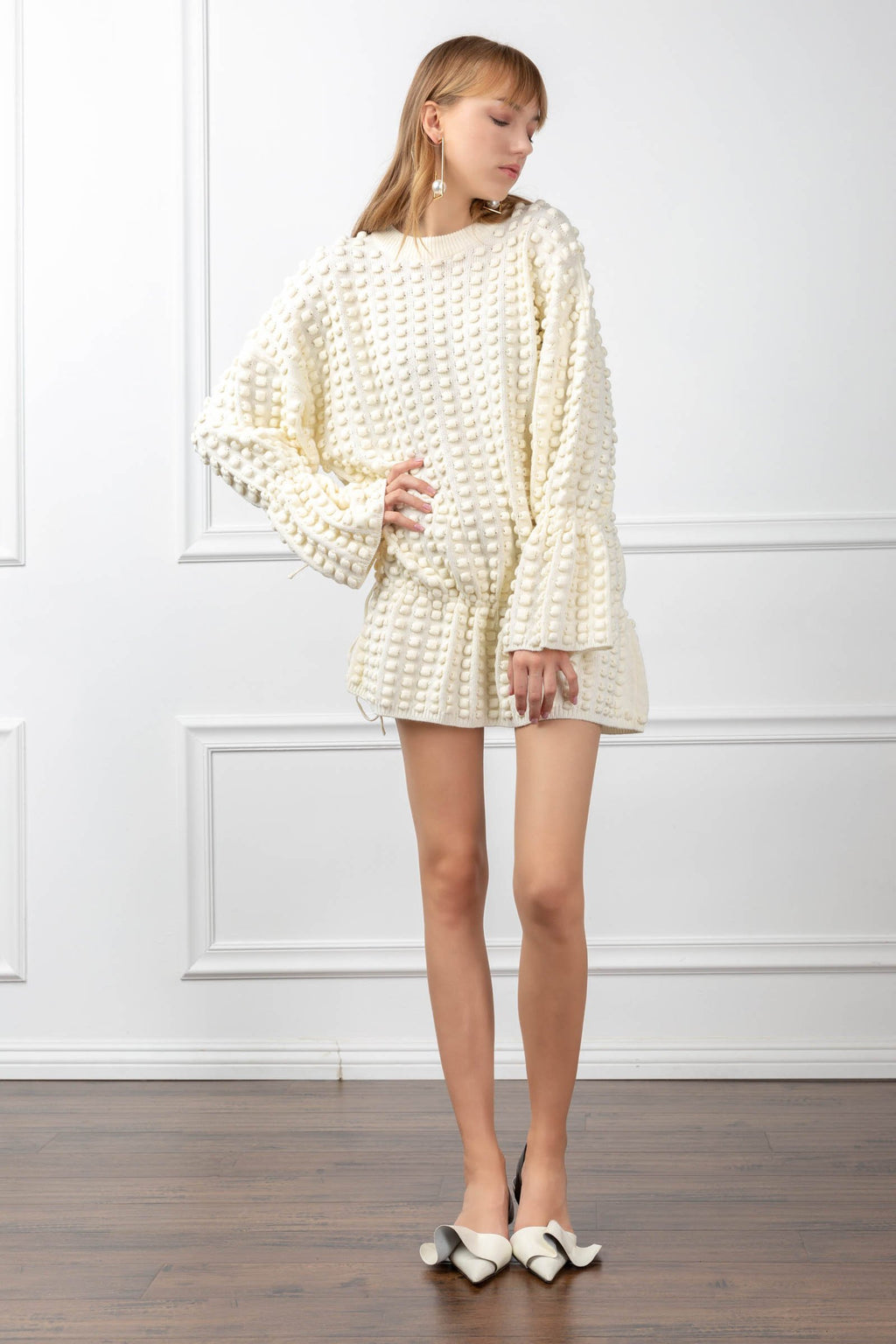 Dawn Sweater in Knitwear by J.ING - an L.A based women's fashion line