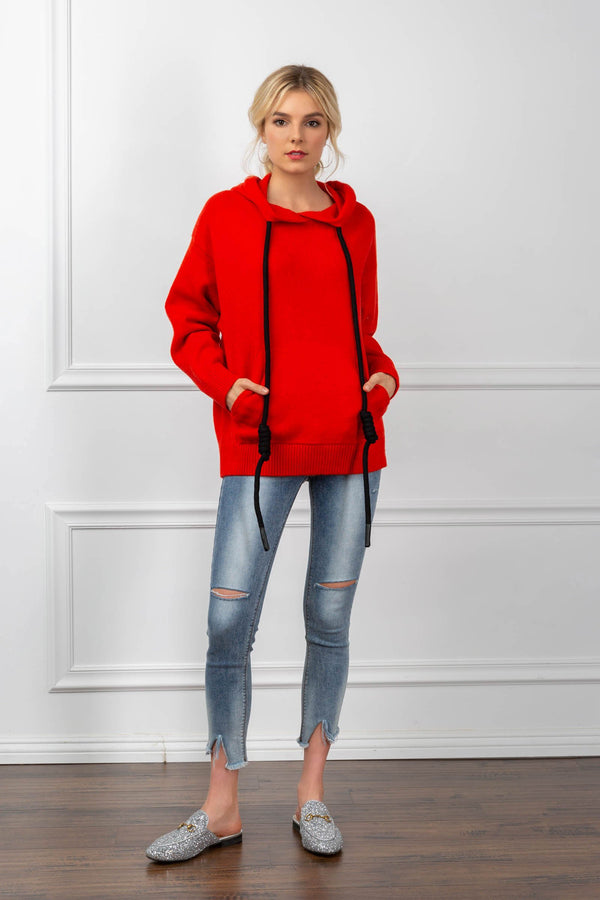 Delaney Sweatshirt Red