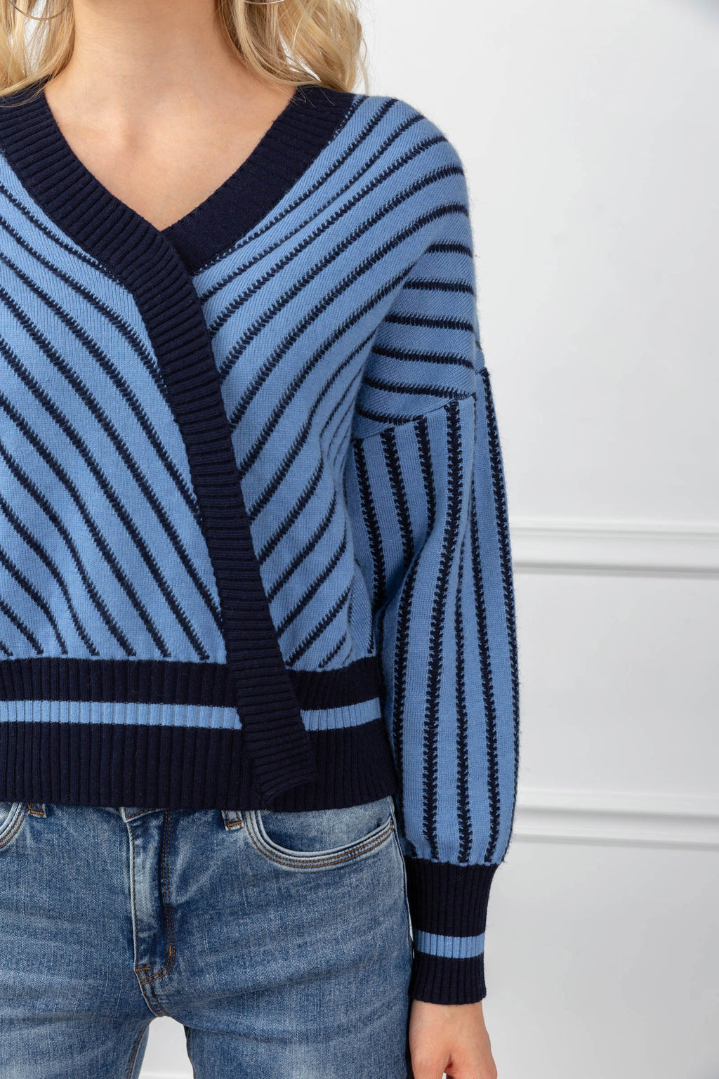 Eden Sweater Blue