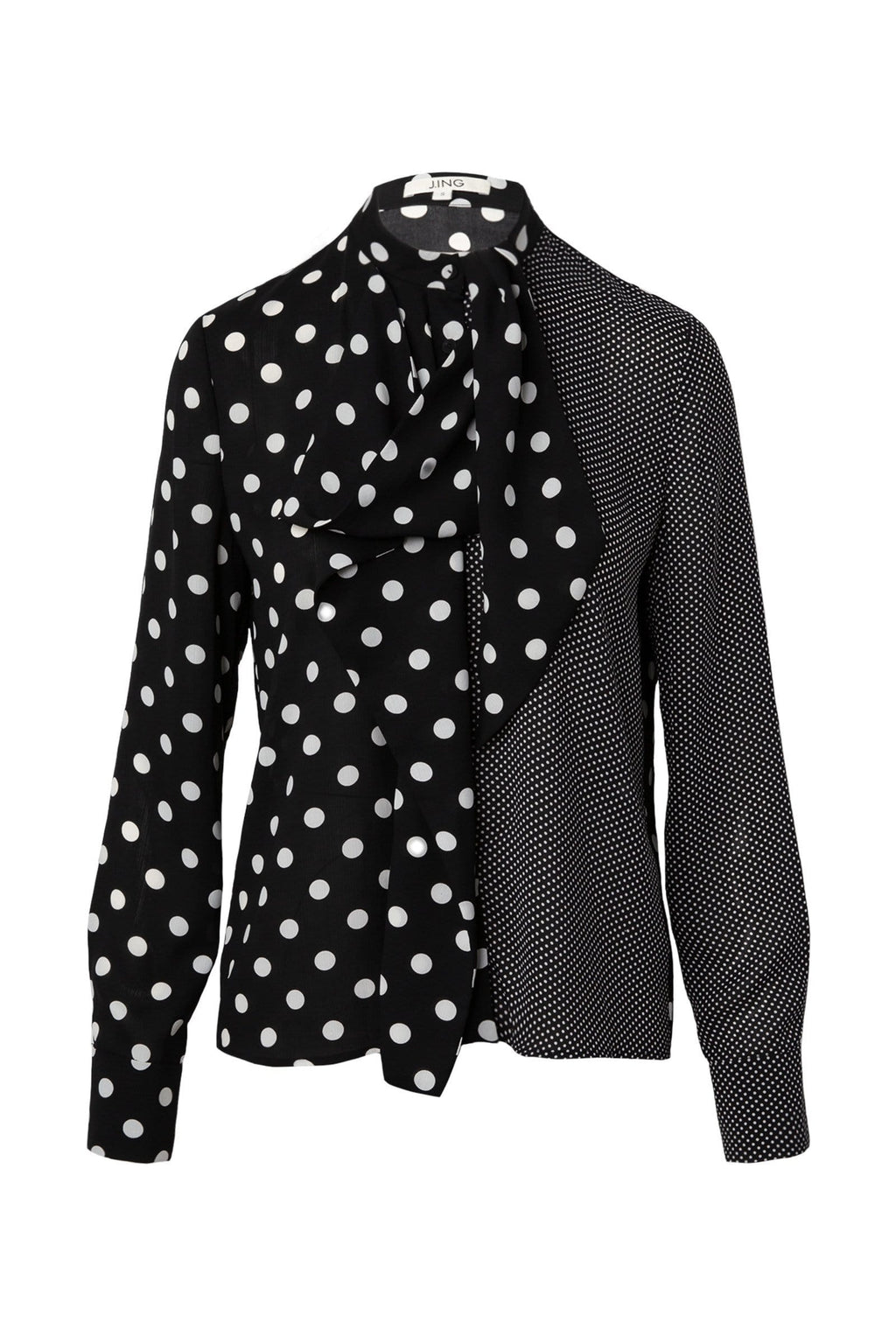 Pippa Polka Dot Blouse by J.ING Women's Clothing