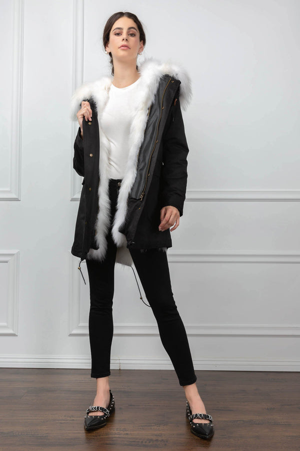Gabriela Parka in Coats & Jackets by J.ING - an L.A based women's fashion line