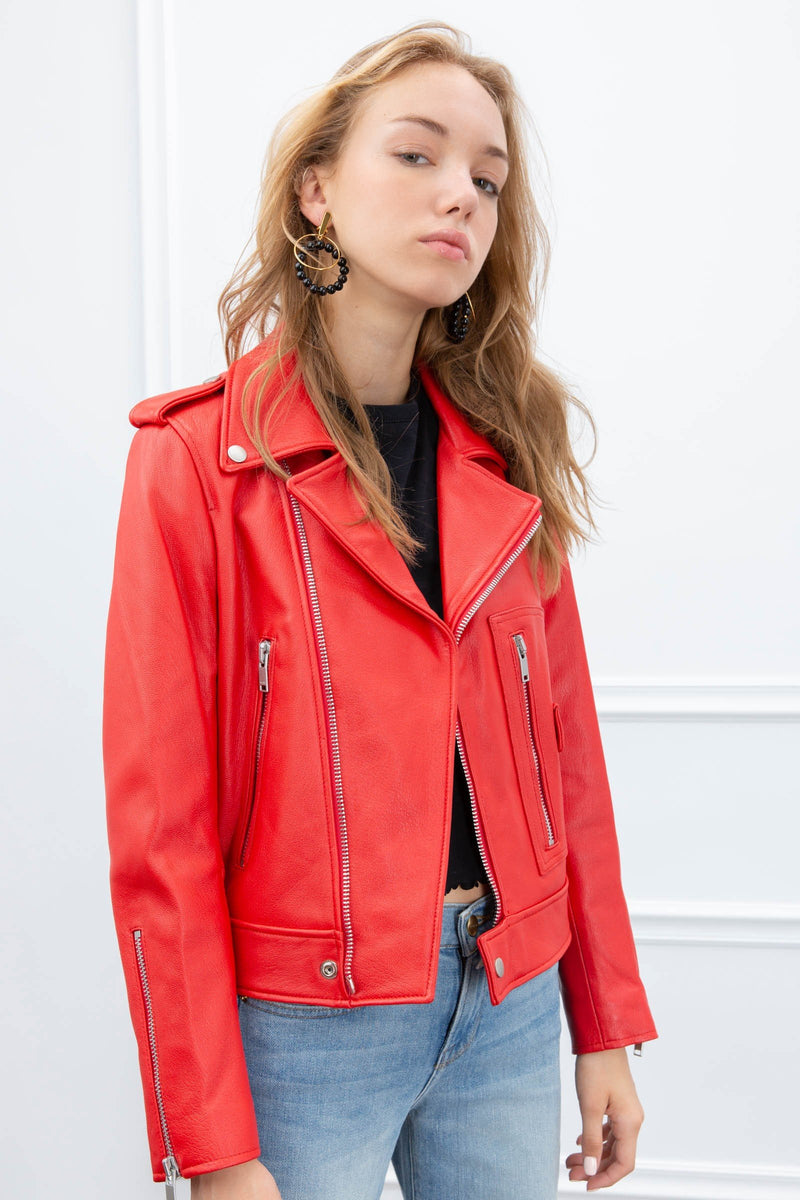 Giada Moto Jacket in Coats & Jackets by J.ING - an L.A based women's fashion line
