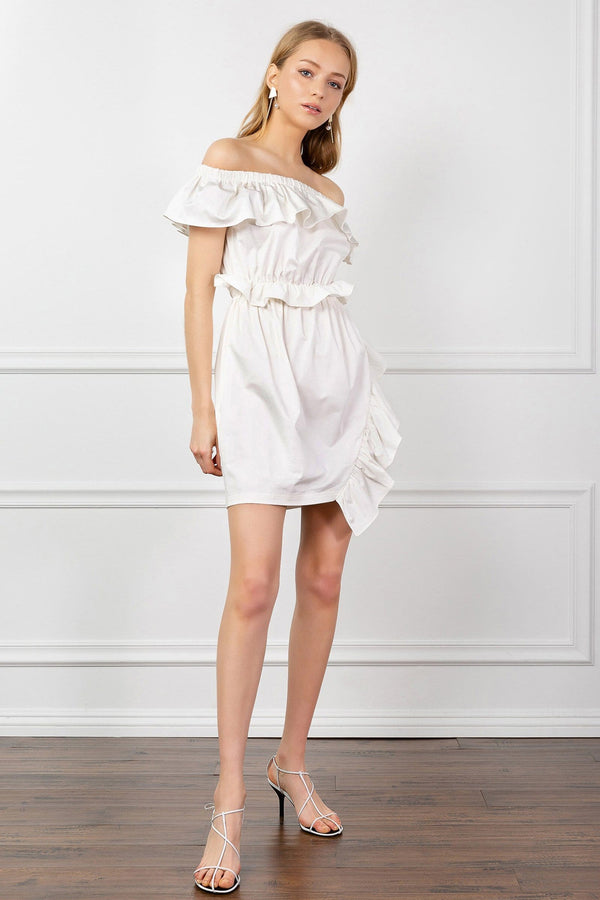 Gianna Ruffle Dress