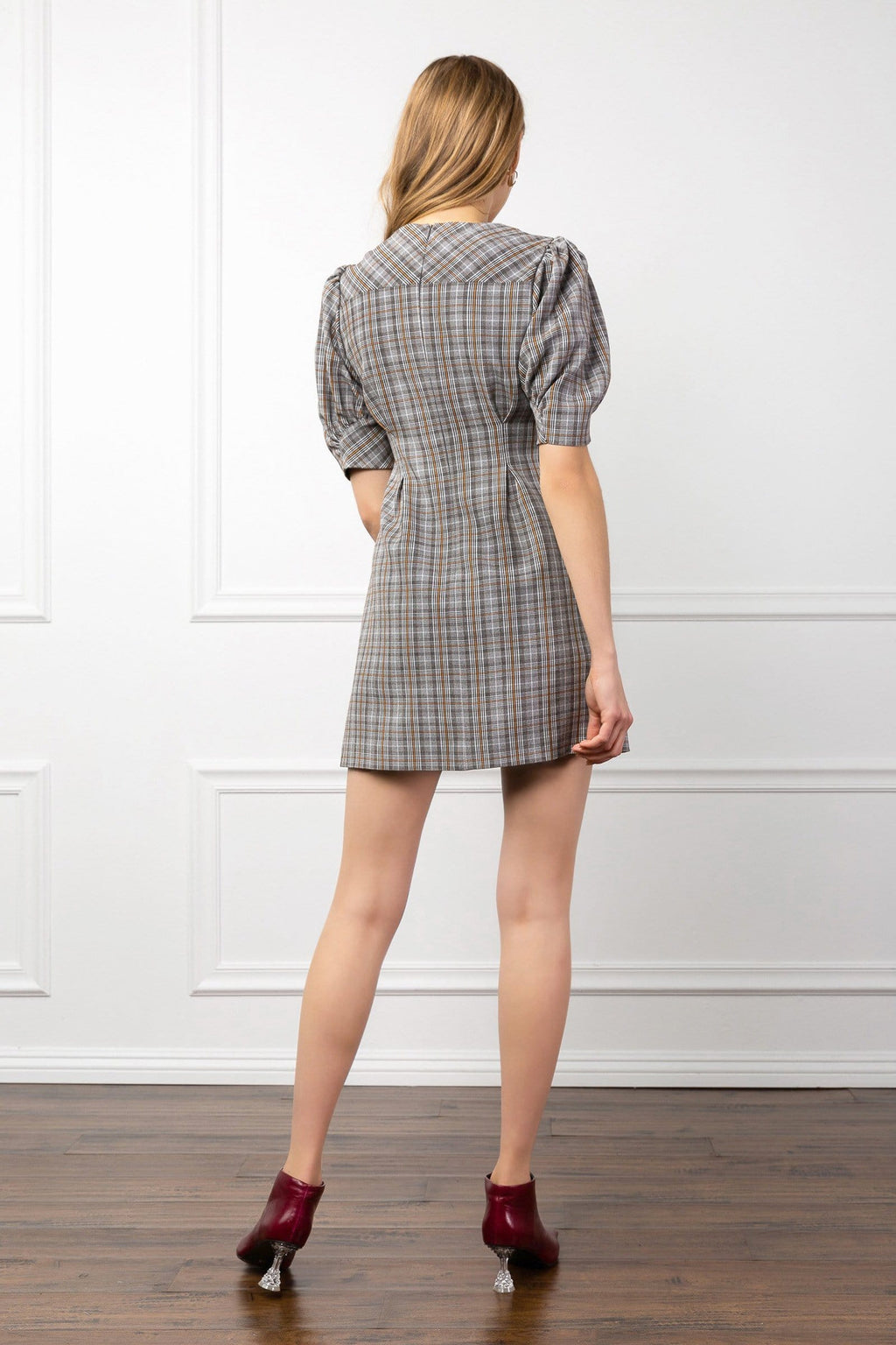 Good to be Plaid Dress