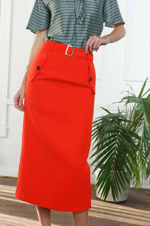 Grace Midi Skirt in Skirts by J.ING - an L.A based women's fashion line
