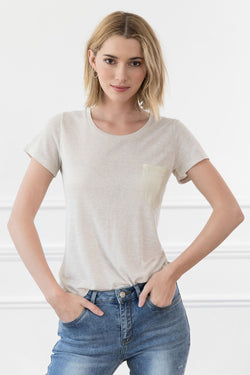 Greylin Tee in Tops by J.ING - an L.A based women's fashion line