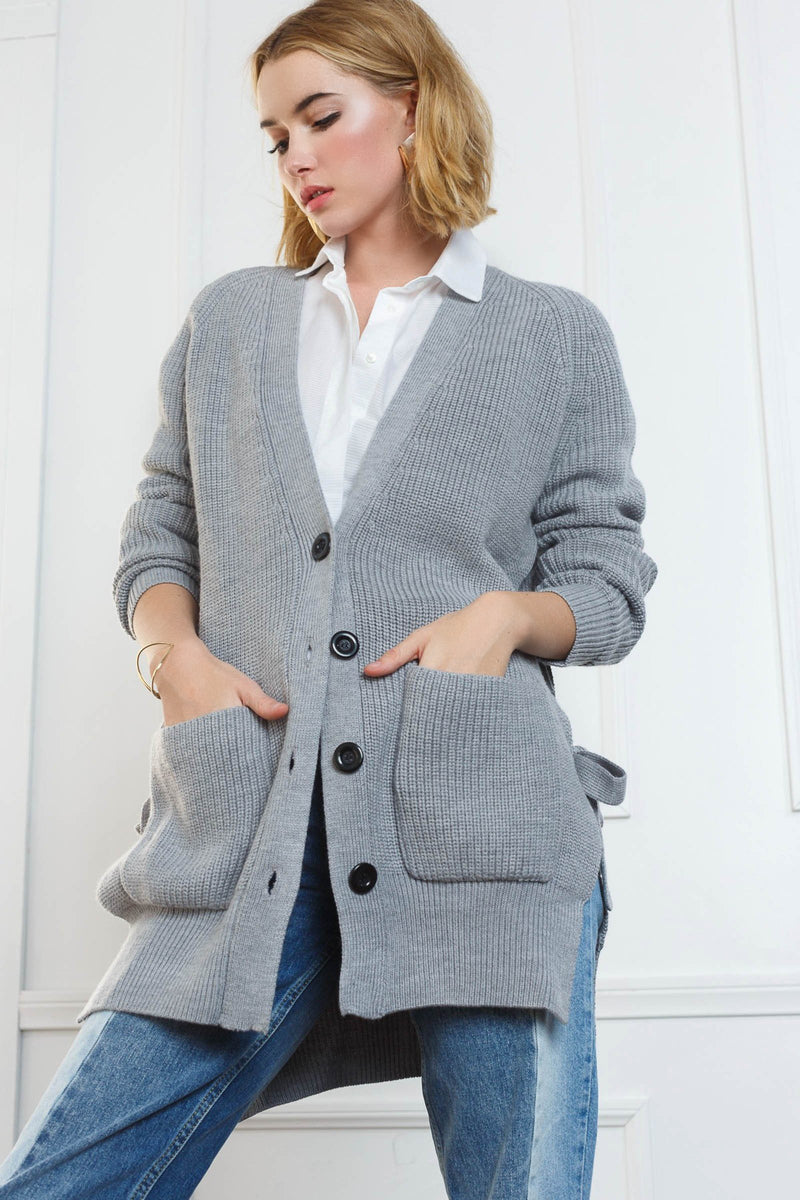 Gwen Cardigan in Knitwear by J.ING - an L.A based women's fashion line