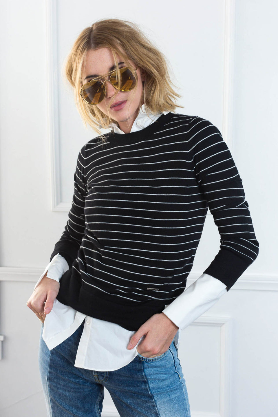 Hampton Black Sweater