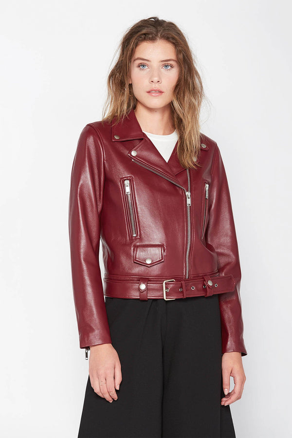 Harper Moto Jacket in Coats & Jackets by J.ING - an L.A based women's fashion line