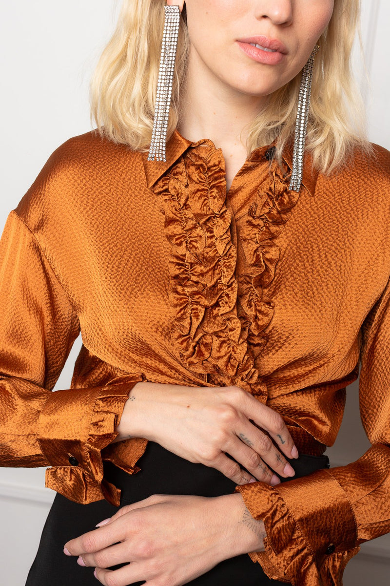 Haylee Ruffle Top in Tops by J.ING - an L.A based women's fashion line