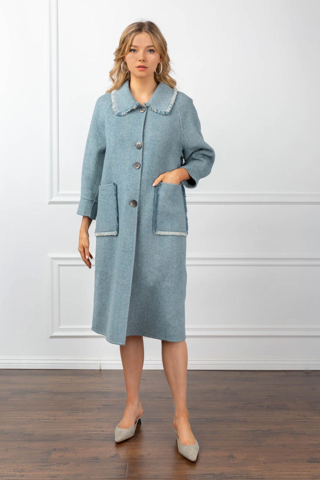 Hope Coat Blue
