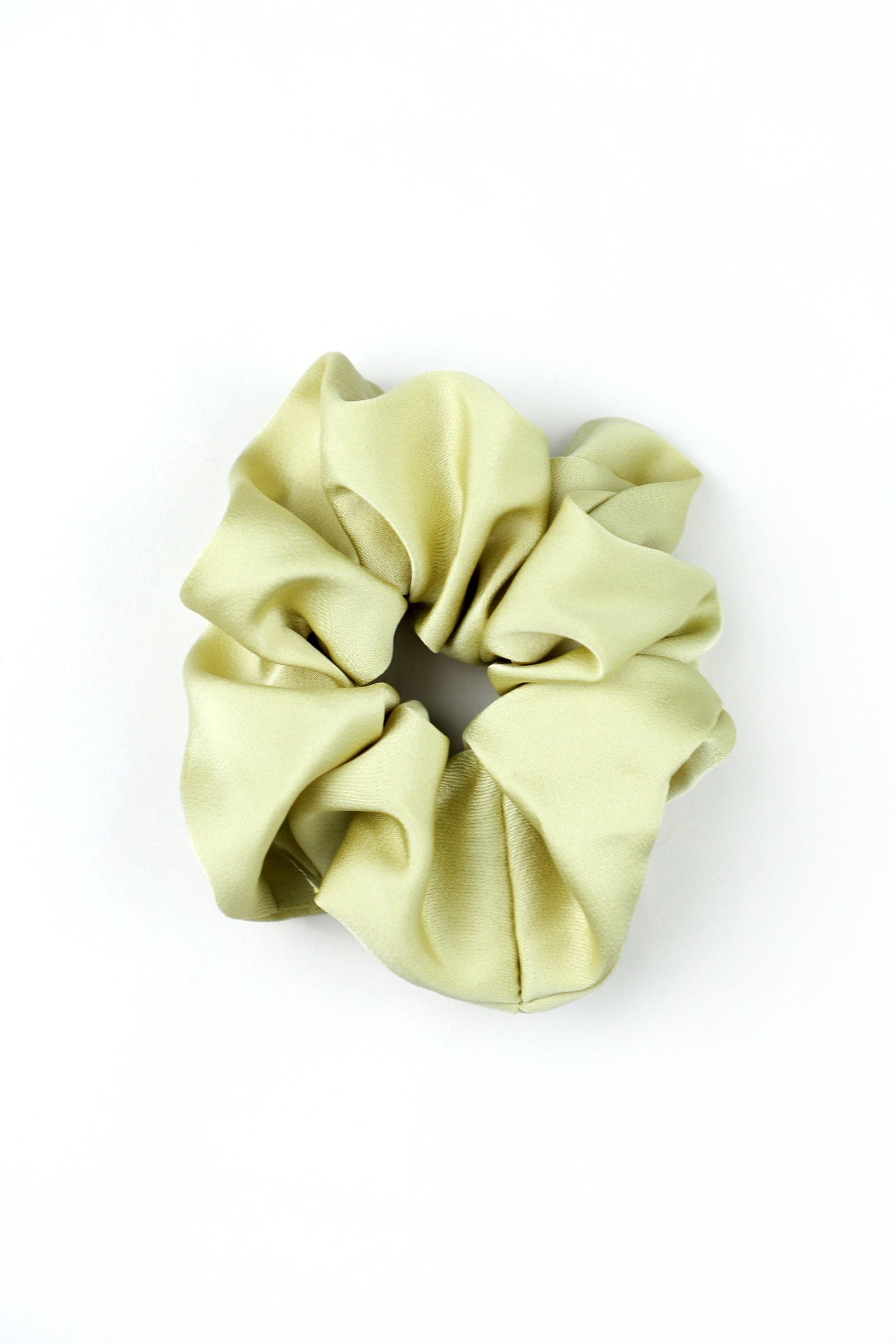 Pistachio Hair Scrunchie