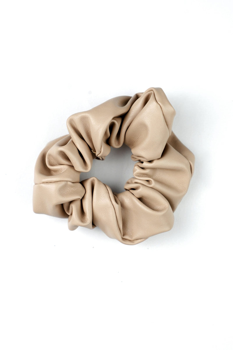 Camel Hair Scrunchie