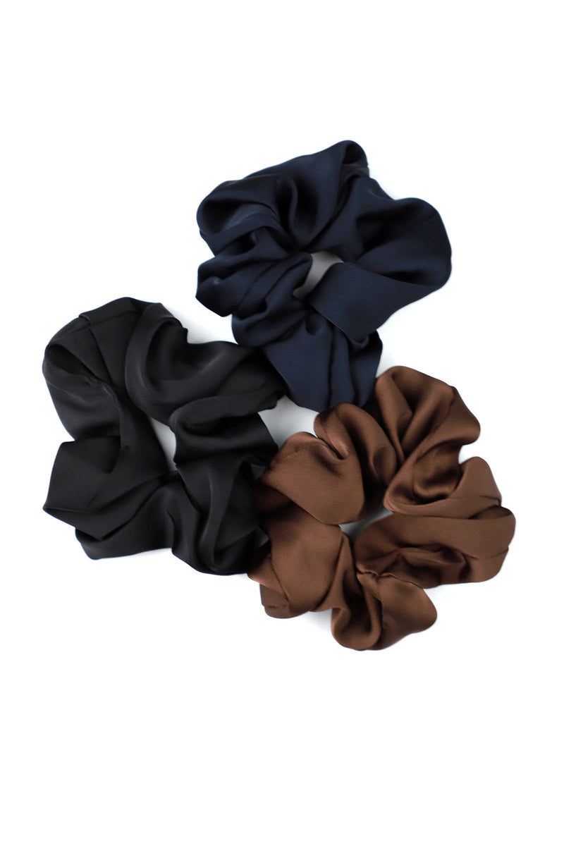 Brown Hair Scrunchie