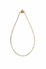 Ines Gold Chain Necklace